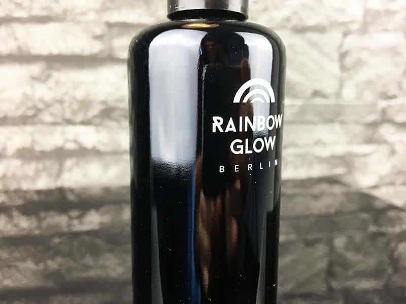 Rainbow Glow Berlin Gleitgel Test auf Wasserbasis 100ml Logo