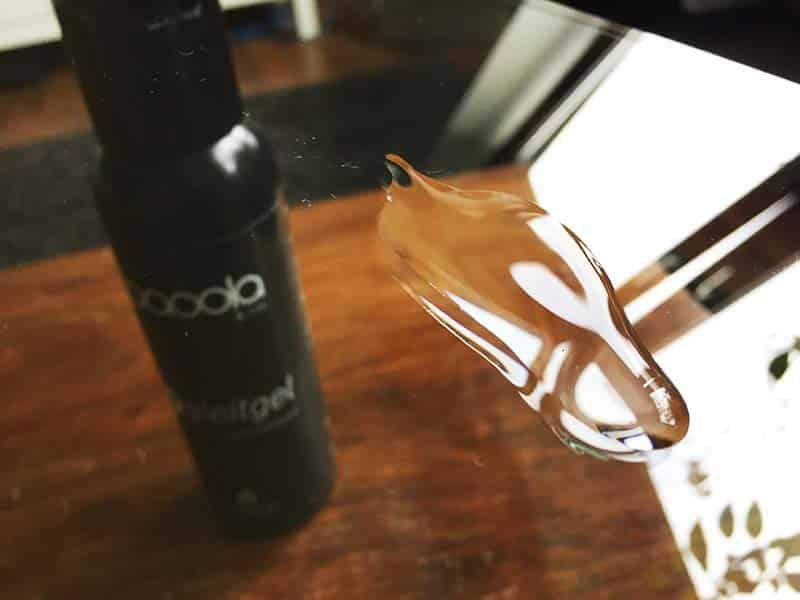 PAOOLA und CO – Gleitgel auf Wasserbasis 250 ml Test Fleck