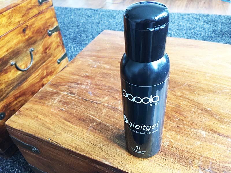 PAOOLA und CO – Gleitgel auf Wasserbasis 250 ml Test Gesamtansicht